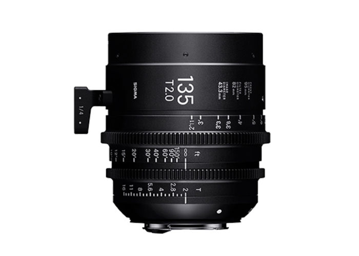 SIGMA CINE HIGH-SPEED-PRIME-LINE Objektiv 135mm T2 FF