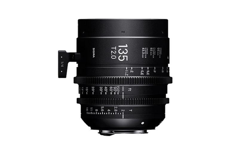 SIGMA CINE HIGH-SPEED-PRIME-LINE Objektiv 135mm T2 FF
