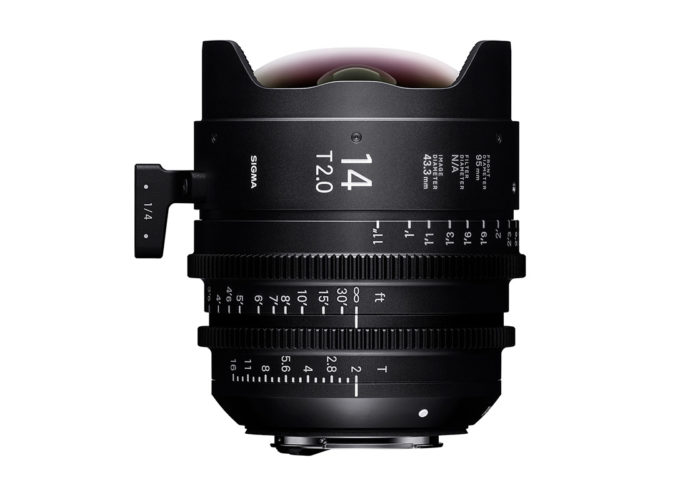 SIGMA CINE HIGH-SPEED-PRIME-LINE Objektiv 14mm T2 FF