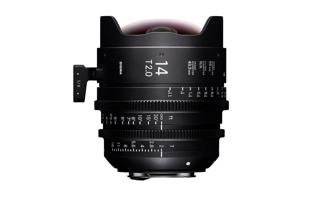 SIGMA CINE HIGH-SPEED-PRIME-LINE Objektiv 14mm T2 FF