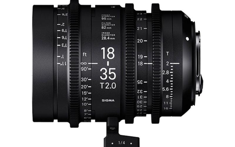 SIGMA Austria CINE Objektiv 18-35mm