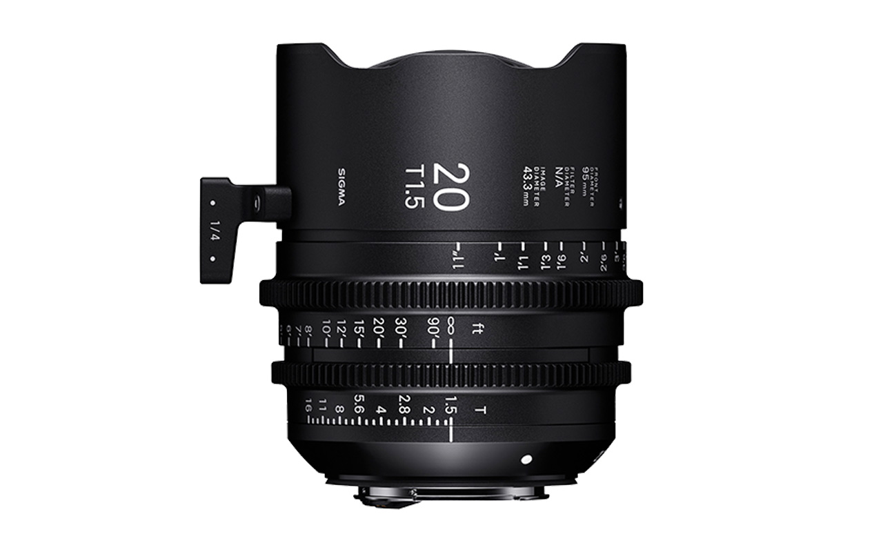 SIGMA CINE HIGH-SPEED-PRIME-LINE Objektiv 20mm T1,5 FF