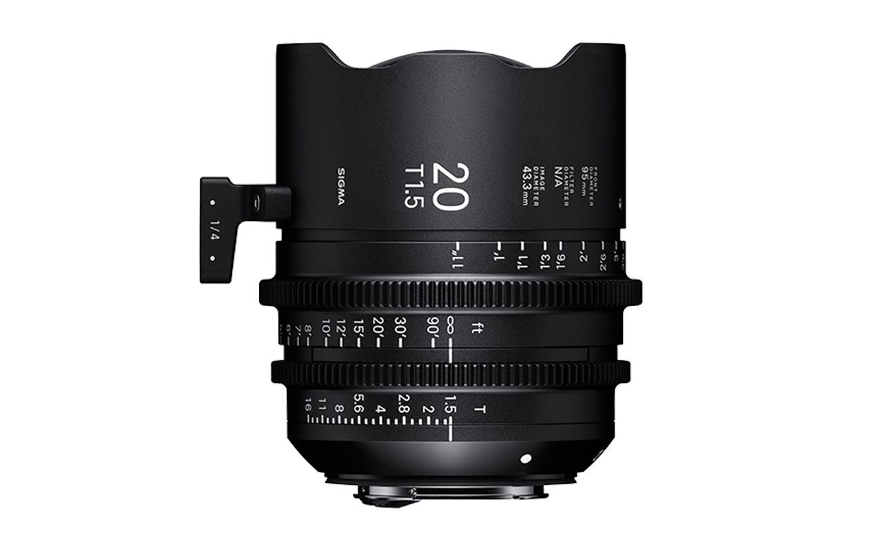 SIGMA CINE HIGH-SPEED-PRIME-LINE Objektiv 20mm T1,5 FF