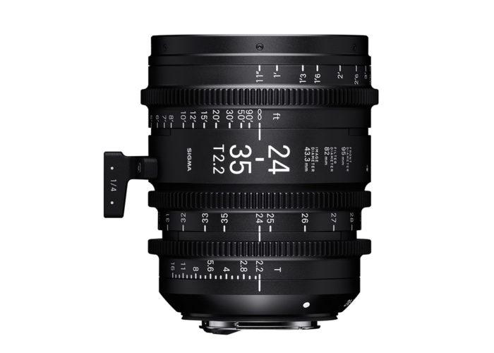 SIGMA Österreich CINE Objektiv 24-35mm T2,2 FF