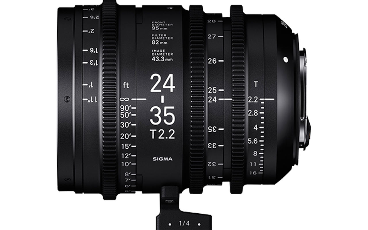 SIGMA Austria CINE Objektiv 24-35mm