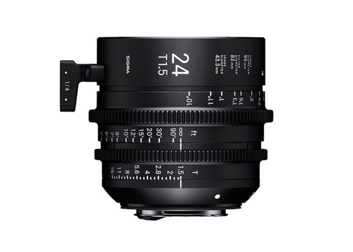 SIGMA CINE HIGH-SPEED-PRIME-LINE Objektiv 24mm T1,5 FF
