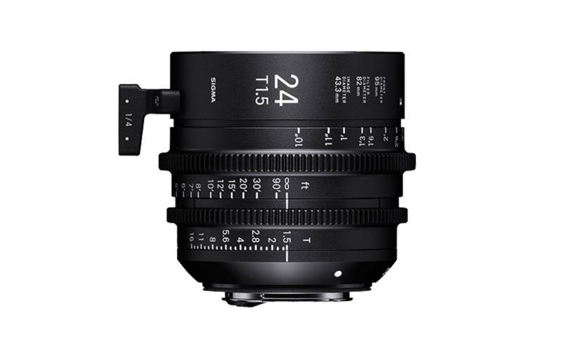SIGMA CINE HIGH-SPEED-PRIME-LINE Objektiv 24mm T1,5 FF