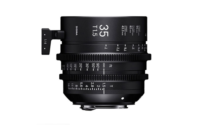 SIGMA CINE HIGH-SPEED-PRIME-LINE Objektiv 35mm T1,5 FF