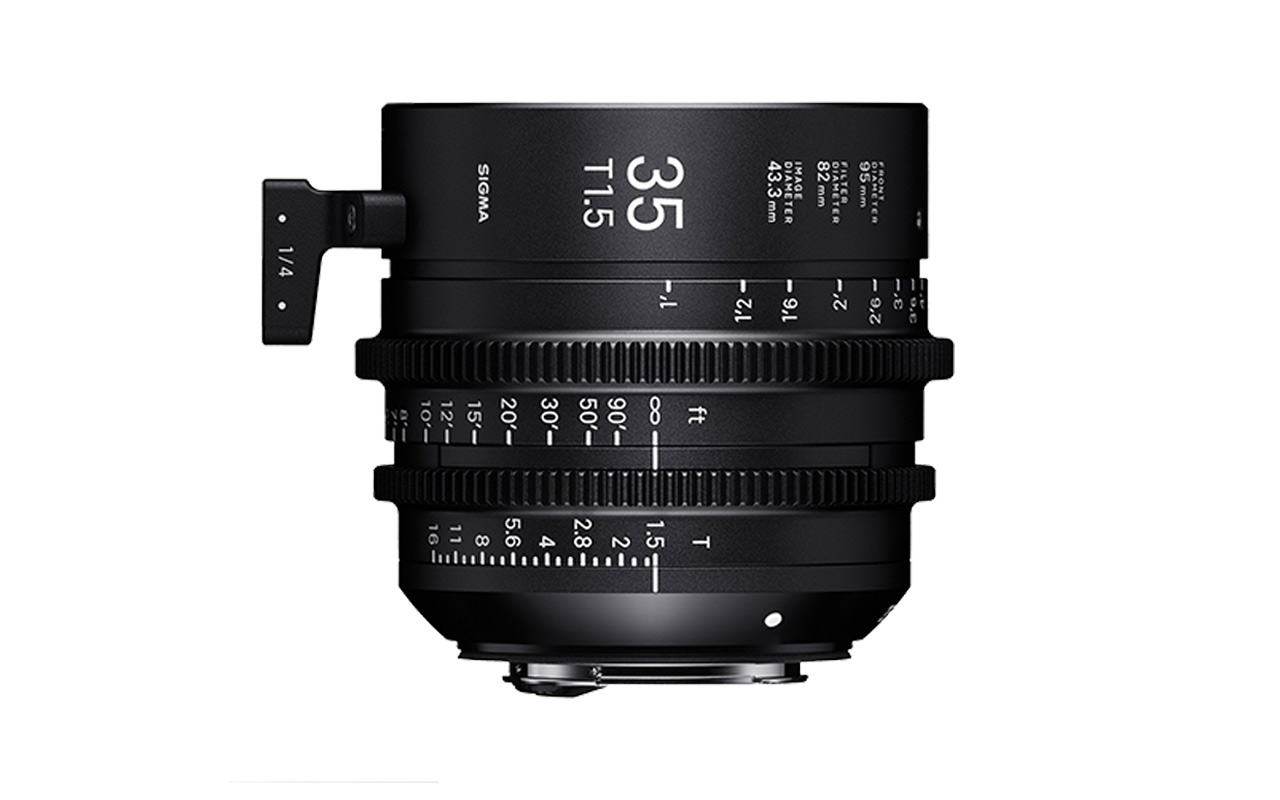 SIGMA CINE HIGH-SPEED-PRIME-LINE Objektiv 35mm T1,5 FF