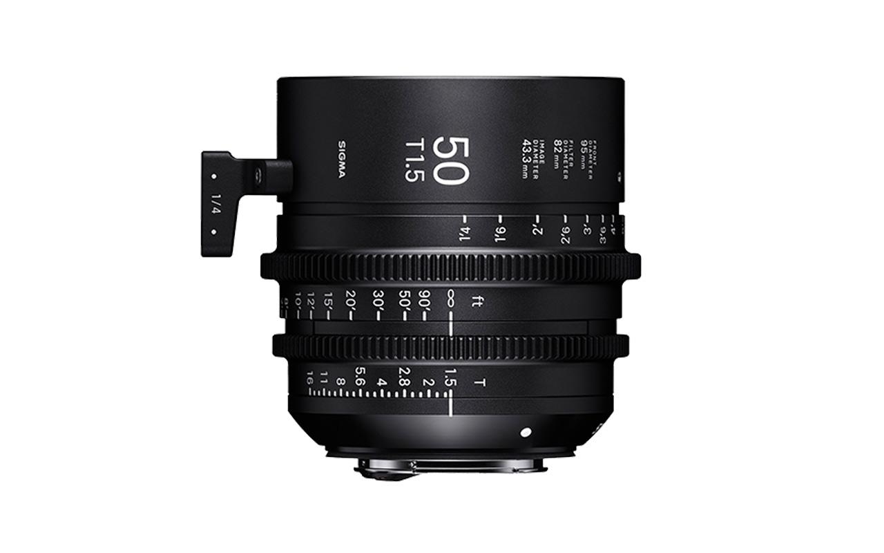 SIGMA CINE HIGH-SPEED-PRIME-LINE Objektiv 50mm T1,5 FF