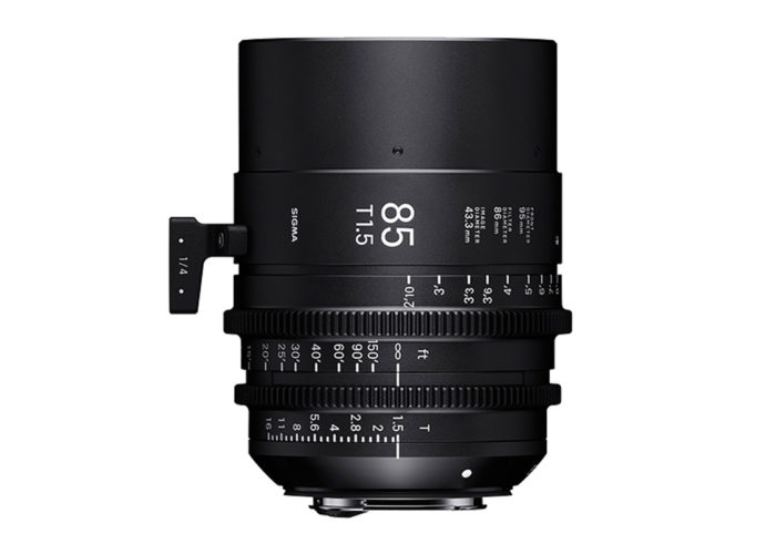 SIGMA CINE HIGH-SPEED-PRIME-LINE Objektiv 85mm T1,5 FF