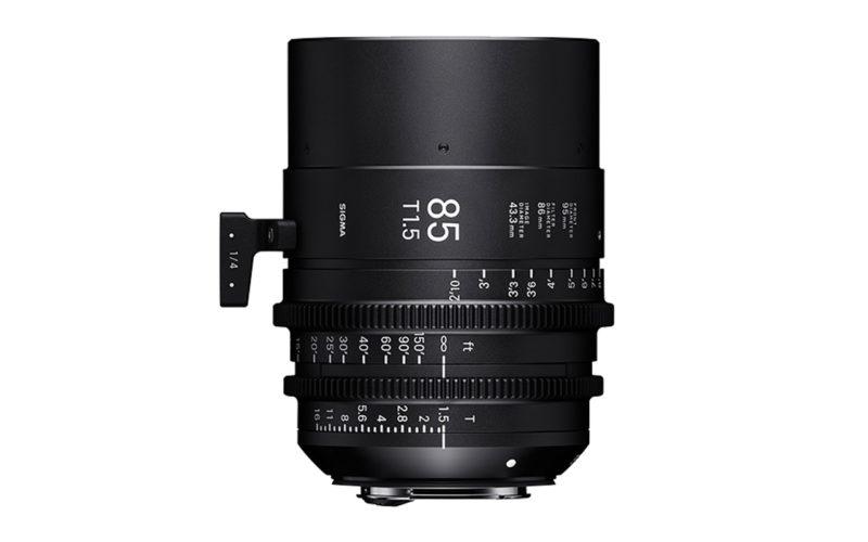 SIGMA CINE HIGH-SPEED-PRIME-LINE Objektiv 85mm T1,5 FF