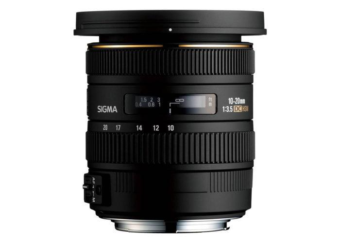 SIGMA 10-20 mm F3,5 EX DC HSM