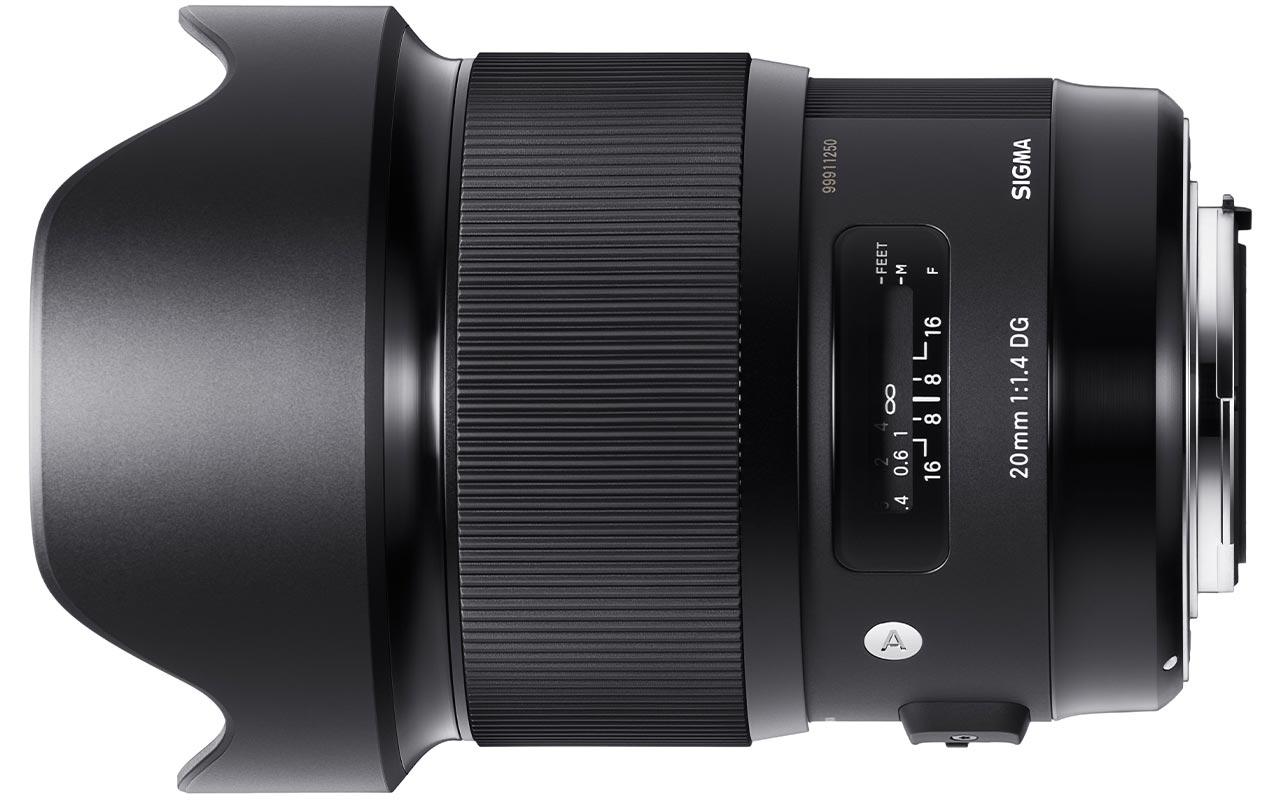 SIGMA 20mm F1,4 DG HSM | Art