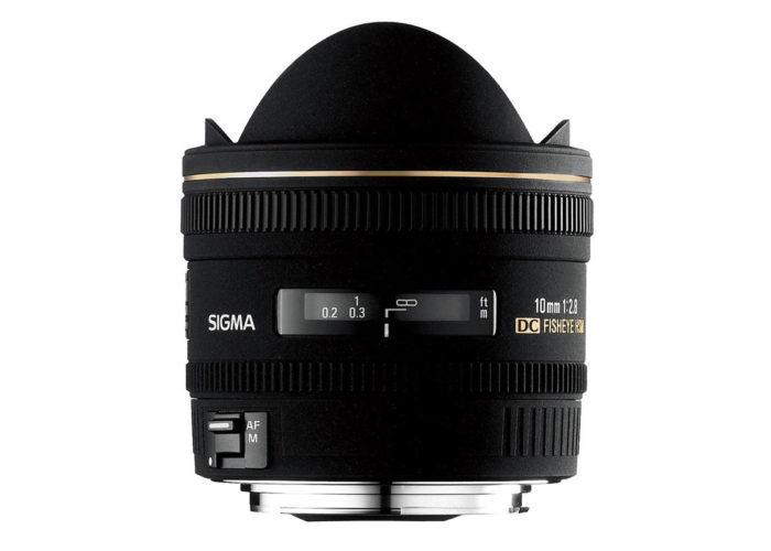SIGMA 10 mm F2,8 EX DC Diagonal-Fisheye HSM