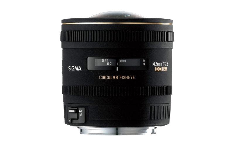 SIGMA 4,5mm F2,8 EX DC Zirkular-Fisheye HSM