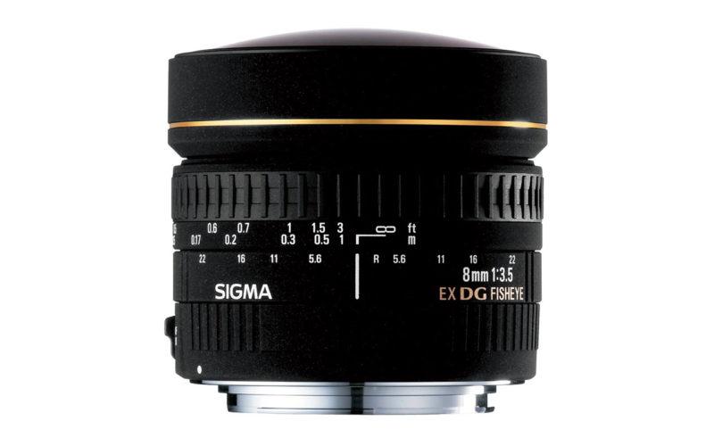 SIGMA 8mm F3,5 EX DG Zirkular-Fisheye