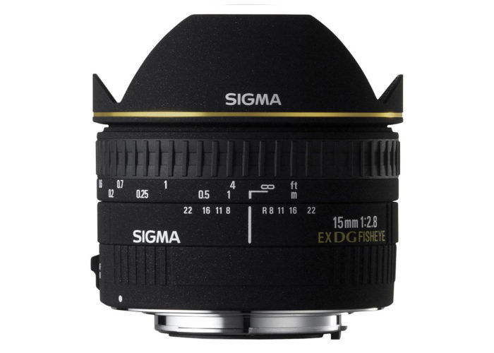 SIGMA 15mm F2,8 EX DG Diagonal-Fisheye