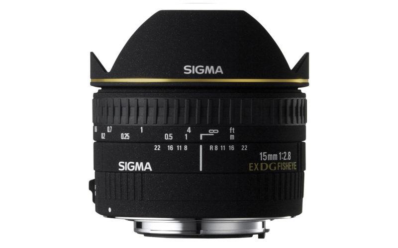 SIGMA 15mm F2,8 EX DG Diagonal-Fisheye