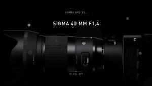 SIGMA 40 mm F1,4 DG HSM | Art