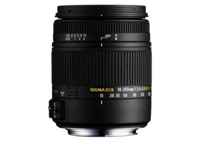 SIGMA 18-250mm F3,5-6,3 DC Makro OS HSM