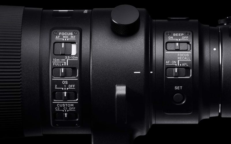 SIGMA 500 mm F4 DG OS HSM   Sports