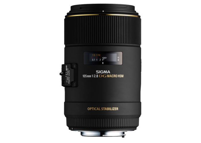SIGMA MAKRO 105 mm F2,8 EX DG OS HSM