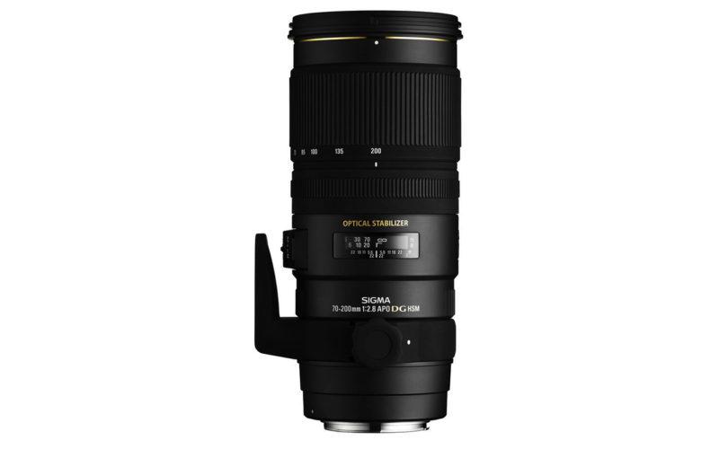 SIGMA 70-200 mm F2,8 EX DG OS HSM