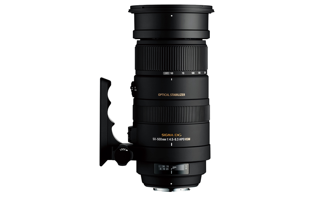 SIGMA 50-500 mm F4,5-6,3 DG OS HSM