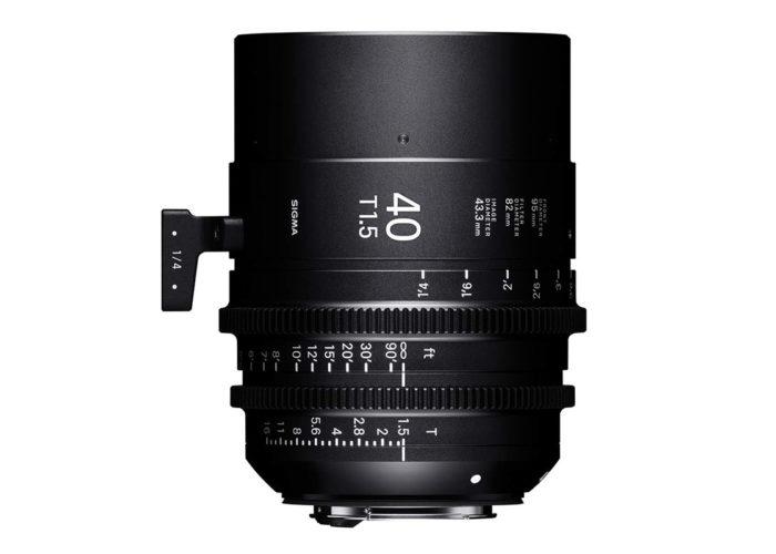 SIGMA Österreich Cine-Objektiv 40 mm T1,5 FF