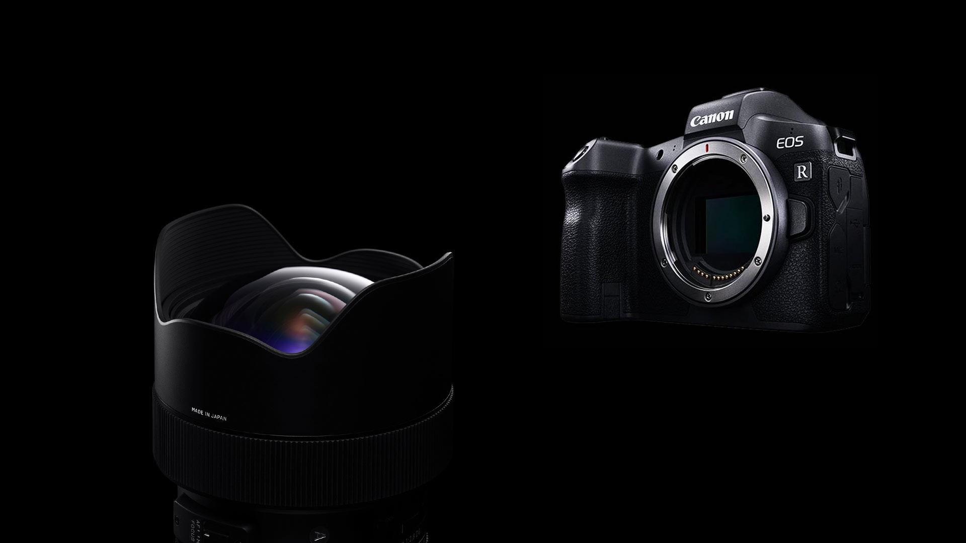 SIGMA und Canon EOS R