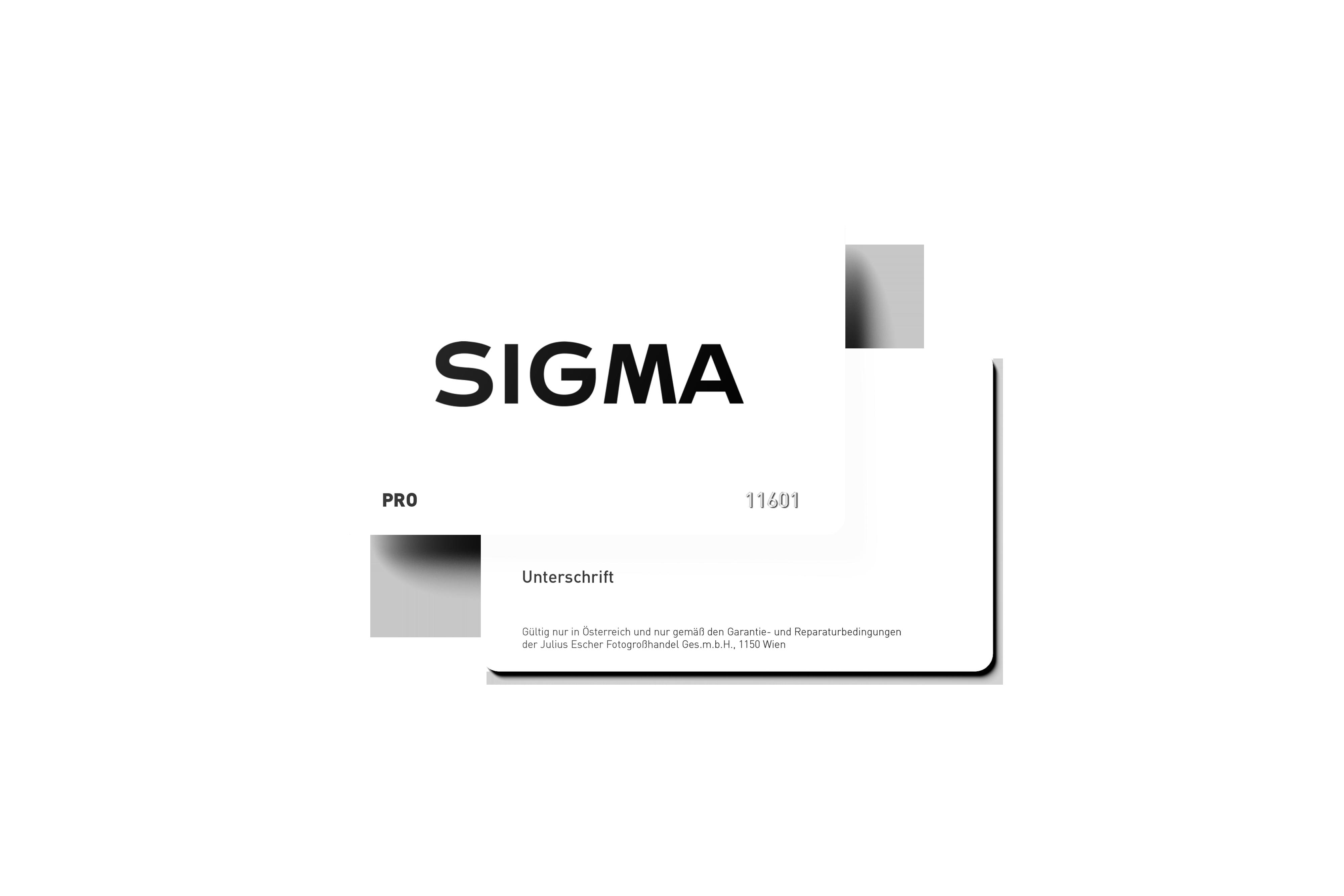 SIGMA Österreich Pro Kundenkarte