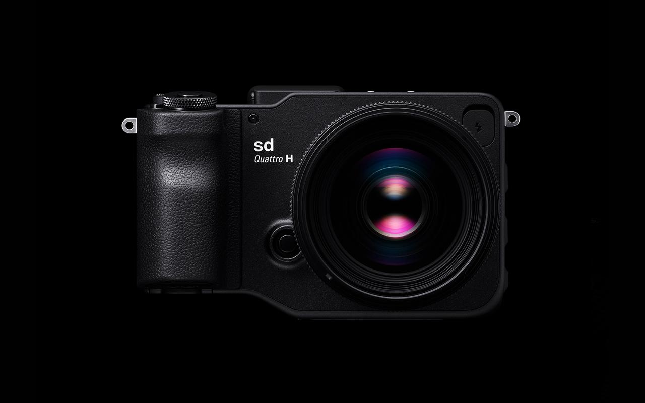 SIGMA sd Quattro H Kamera Spiegellose_Systemkamera Vorderansicht Produktabbildung