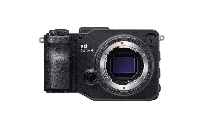 SIGMA sd Quattro H Kamera Spiegellose Systemkamera Vorderansicht Produktbild 1280x800px