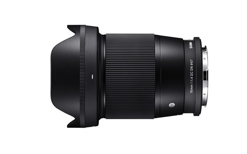 SIGMA 16 mm F1,4 DC DN | Contemporary L-Mount