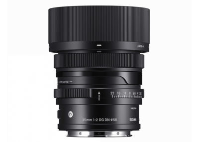 Sigma 35mm 2 DG DN Contemporary Objektiv 2020 Österreich